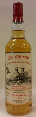 The Ultimate: Glenburgie 21 years old - Vintage 1995 - Limited Release of 330 bottles (No. 129/330) - bottled in 2016