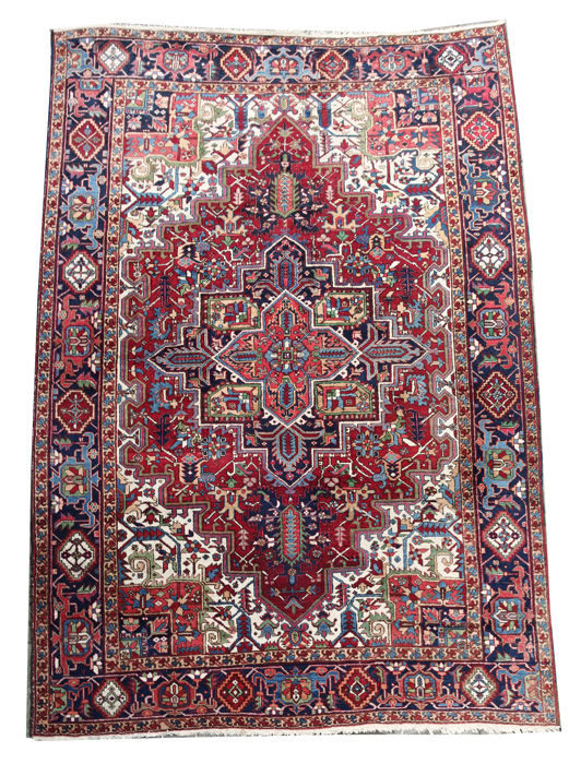 Gorgeous XL Persian Heriz  2nd Half of the 20 Century c. 353x234 cm.