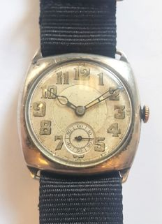 Vintage Early Silver Wristwatch Mido Military Style - Switzerland around 1920s