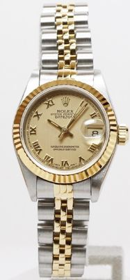 Rolex -- Date Just --  No.69173   Ladies ( Female's watch )--1996