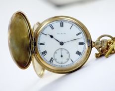 Elgin National Watch Co USA - Keystone Hunter Case - Pocket Watch - Production Year 1925