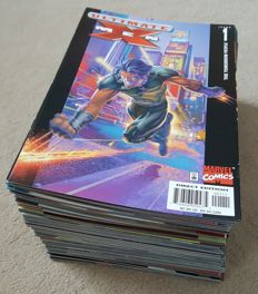 Collection Of Marvel Comics - Ultimate X-men Vol 1 - Issues #1-73 Unbroken Run + Annual #1 - X74 SC - (2000/2006)