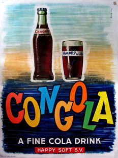 Prion? - Congola, a fine Cola drink - 1963