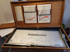 Very exclusive stability and trim meter chest of the ship: T.S.S. Reina Del Mar