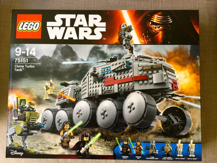 Lego - Star Wars - 75151 - Clone Turbo Tank - (2016)