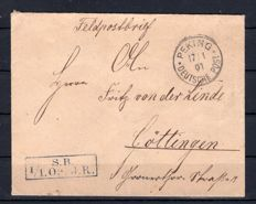 German Post in China - collection with field post and Beijing Emperor's Palace
