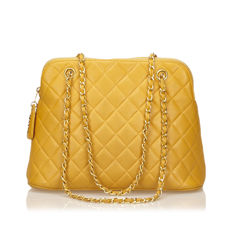 Chanel - Quilted Caviar Leather Shoulder Bag