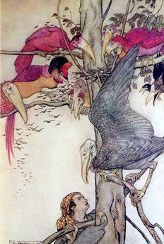 Arthur Rackham; Edmund Gosse (intro.) - The Allies' Fairy book - 1916