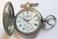 Georges Favre Jacot pocket watch - Switzerland , made for Imperial Russia, 1890s