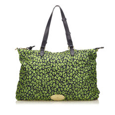 Mulberry - Quilted Printed Nylon Large Shoulder bag / Duffle bag