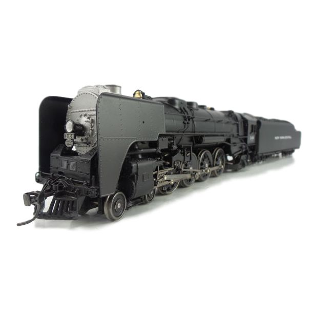 Broadway Limited H0 - 1285 - Brass Steam locomotive Series L-4a Mohawk 4-8-2 with towed tender of the New York Central