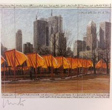 Christo - The Gates, Project XXIV for Central Park - NY City