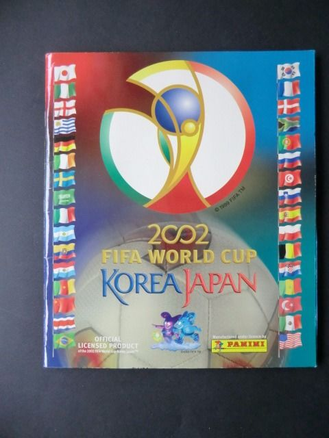 Panini 2002 - FIFA World Cup Korea/Japan - Compleet album.