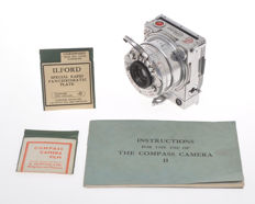Compass Camera made in Swiss by LeCoultre very rare small 35mm camera