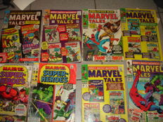 Collection Of Silver Age Marvel Comics - Featuring Spider-man, Iron Man, Fantastic Four + More - x15 SC