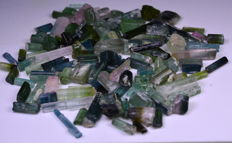 Tourmaline Crystals Lot From Afghanistan - 295 Ct