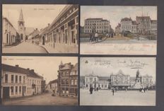 Belgium - 1900/1930 very beautiful composition of 110 villages and towns