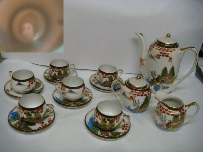 Hayasi China Hand Painted Japan