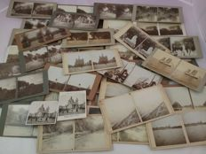 39 stereoscopic photos from 1909 to 1916