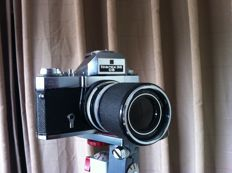 Zeiss IKON Voigtlander ICAREX 35 CS with a Carl Zeis Super-Dynarex lens