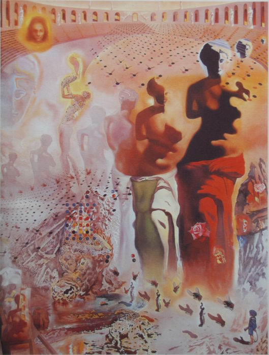 Salvador Dalí (after) - Hallucinogenic toreador