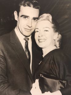 Robert Cohen & Unknown - Sean Connery & Lana Turner- 'Je pleure mon amour', 1958 and others, various