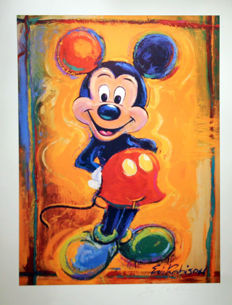 Robison, Eric - Llithograph - 'Mickey Mouse' (ca. 1990's)