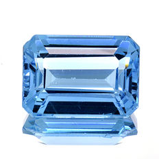 Swiss Blue Topaz - 15.83 ct