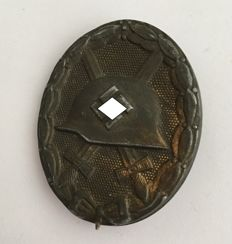 Wounded badge for the army 1939 in gold
