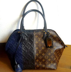 Louis Vuitton - Monogram Blocks Stripes Bag Marine - Limited edition