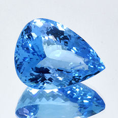 Swiss Blue Topaz - 52.99 ct