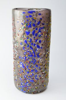Zecchin - large Murrine vase (29.5 cm high)