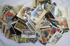 Exclusive !!! 6 kilograms of postcards of the USSR, Europe and the World of Mix. Period from 1932 to 1989.