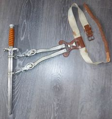 Heeresdolch / German army officer's dagger - F.W. Höller - Solingen - WW2.