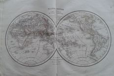 Atlas; Félix Delamarche - Atlas of ancient geography, adopted by the royal Council of public instruction, to the use of the Royal colleges to follow the courses of geography and history - 1832