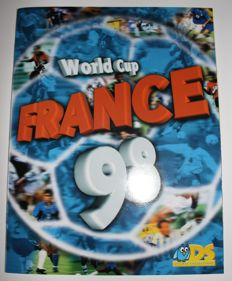 Variant of Panini - DS sticker collections - World Cup France 1998 - Complete album.