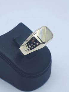 Gold Man's Ring 14k - 20.5 mm
