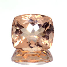 Peach morganite, 5.31 ct