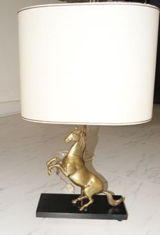 Unknown designer - table lamp - rearing horse