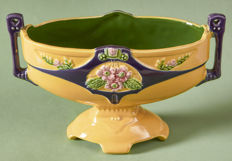 Eichwald - special polychrome decorated Majolica Jardinière