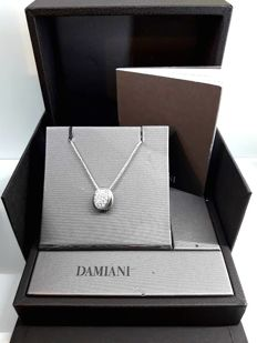 Damiani necklace with pendant and diamonds - White gold - 18 ct - 10 g - length: 41 cm