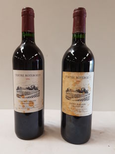 1996 Chateau Tertre Roteboeuf - St Emilion Grand Cru - 2 bottles