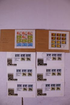 Netherlands 1958/2001 – Lot of approx 5000 FDCs and covers in 10 albums