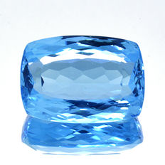 Swiss Blue Topaz - 40.17 ct