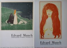 Edvard Munch - Vieillesse et Jeunesse + Edvard Munch : lithographs, etchings, woodcuts