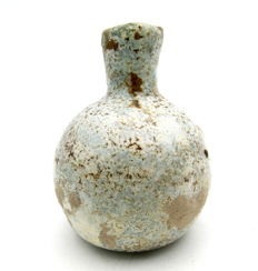 "Ancient Roman ""Bell"" Glass Flask-  57x44 mm"