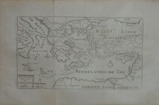 Holy Land; n.n. - 2 copper engravings - 18th century