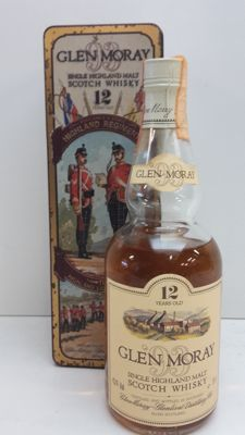 "Glen Moray 12 years old - Highland Regiments, ""The Highland Light Infantry"""