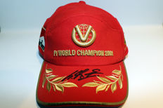 Very rare nice Michael Schumacher personally signed cap