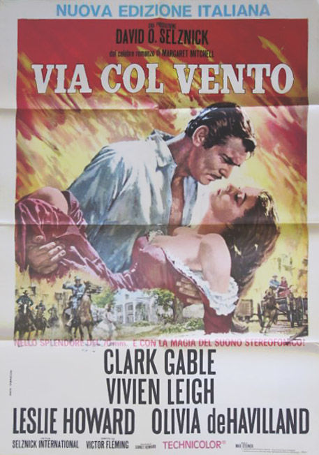 Anonymous  - Via col Vento (Gone with the Wind, Victor Flemming) - 1970s